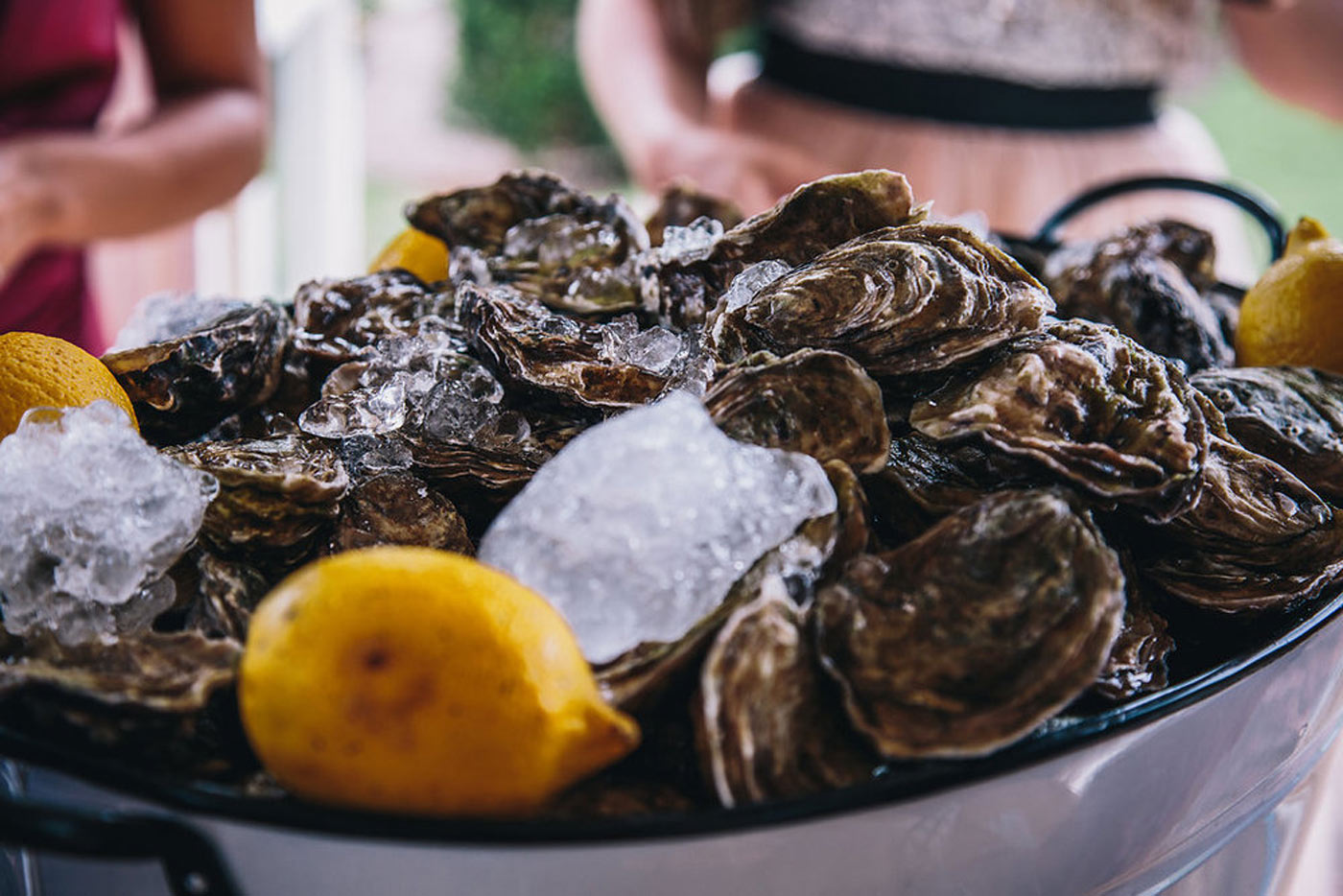 oysters luxury wedding food trends