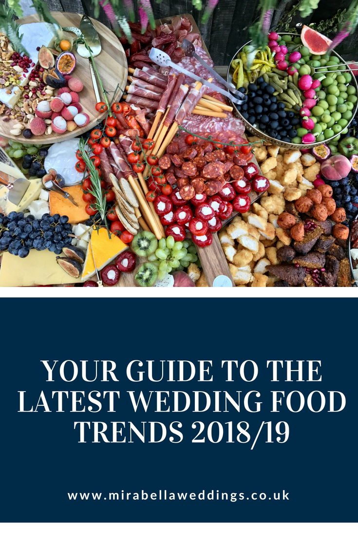 Your Guide to the Latest Wedding Food Trends! www.mirabellaweddings.co.uk