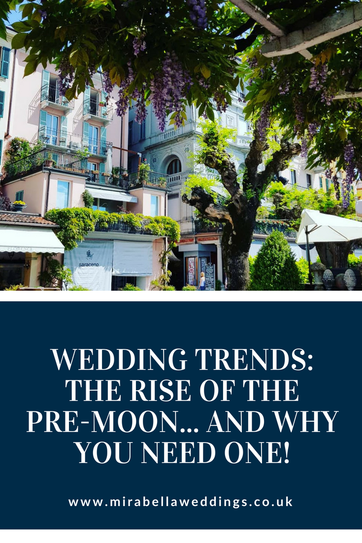 The latest wedding trend - the rise of the Pre-Moon, and why you need one! www.mirabellaweddings.co.uk