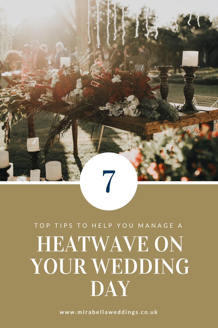 heatwave luxury wedding planner tips