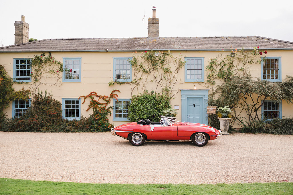 luxury wedding planner car and venue