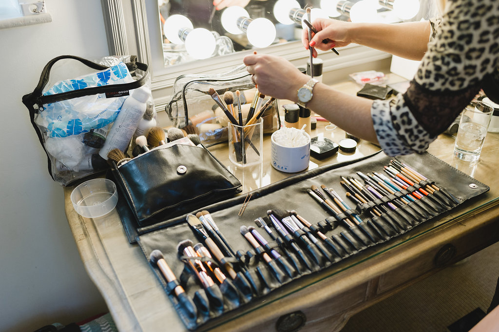 luxury wedding hair and makeup artist