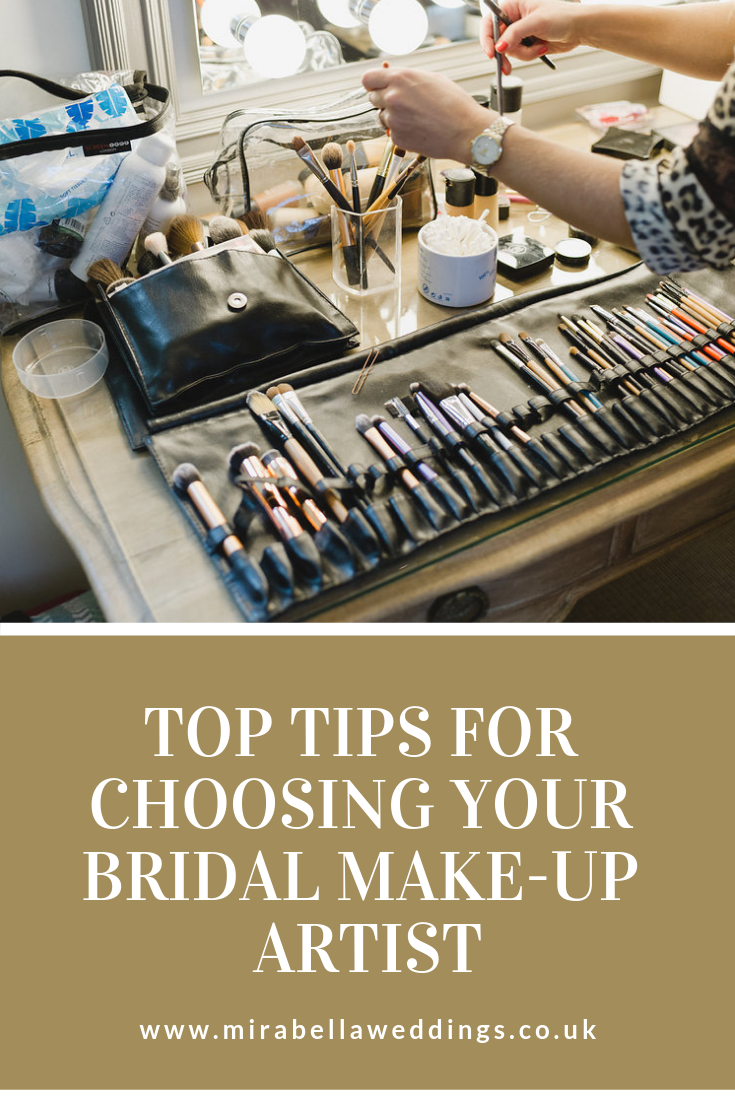 Wedding Planning Tips - Choosing a Bridal Make Up Artist