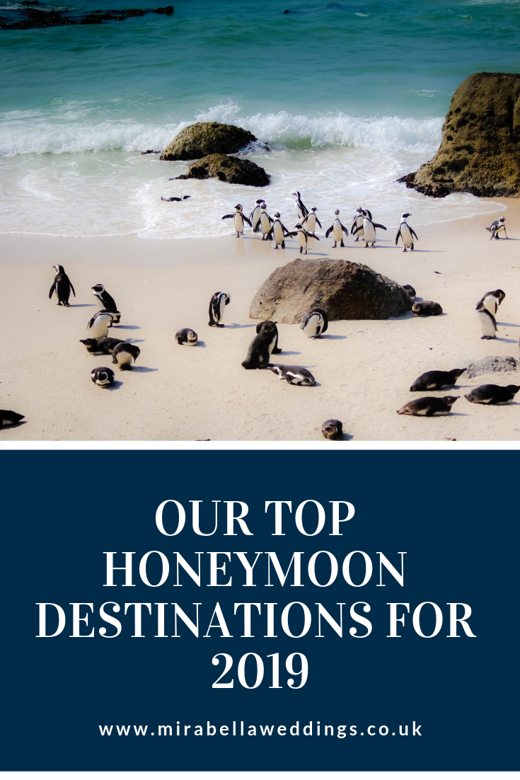 Honeymoon Planning - Our Top Honeymoon Destinations for 2019. Mirabella Weddings