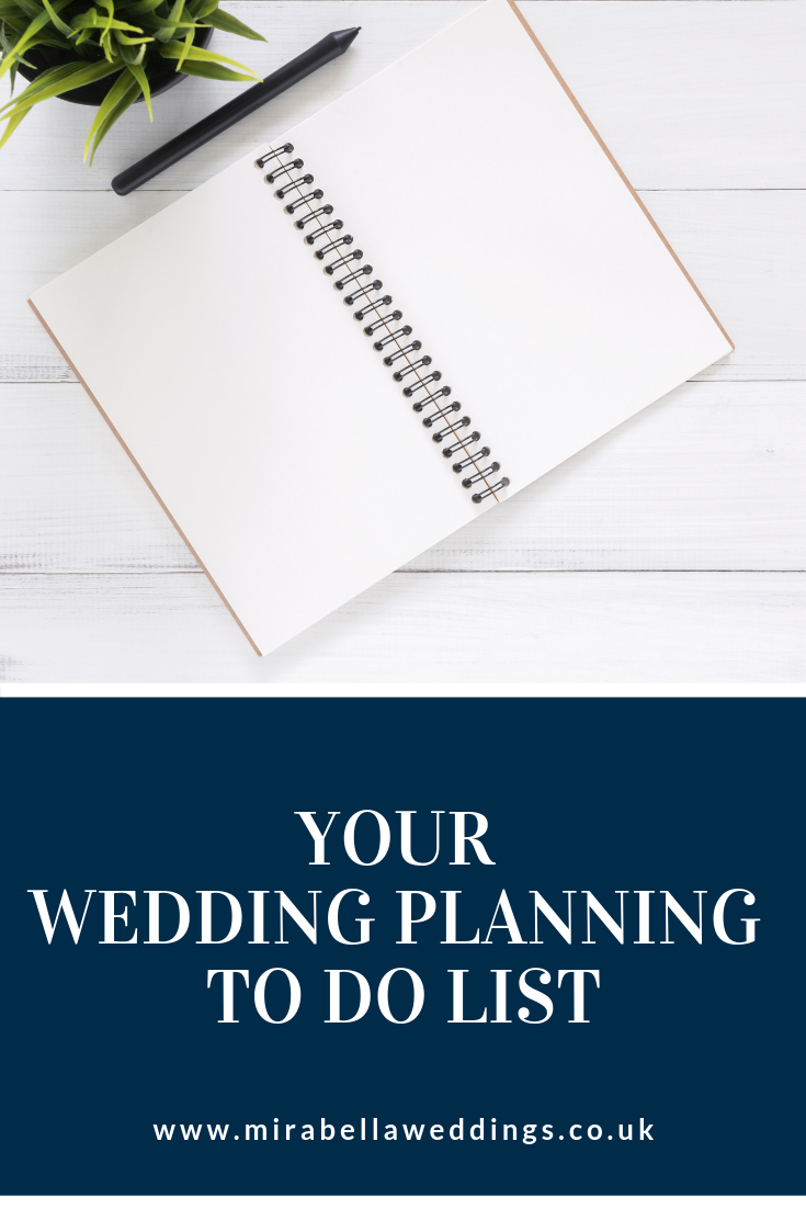 Modern Wedding Planning Tips - Your Wedding Planning To Do List. Mirabella Weddings