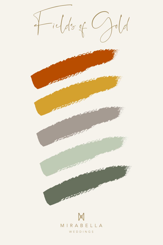 Autumn Colour Palette | Mirabella Weddings, UK wedding planner | Luxury weddings across the UK