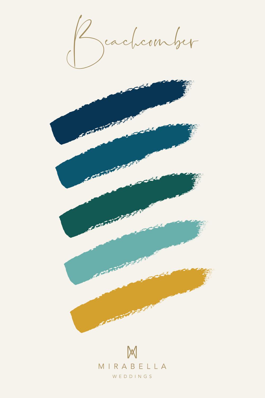 Teal Colour Palette for an Autumn Wedding | Mirabella Weddings, UK wedding planner | Luxury weddings across the UK