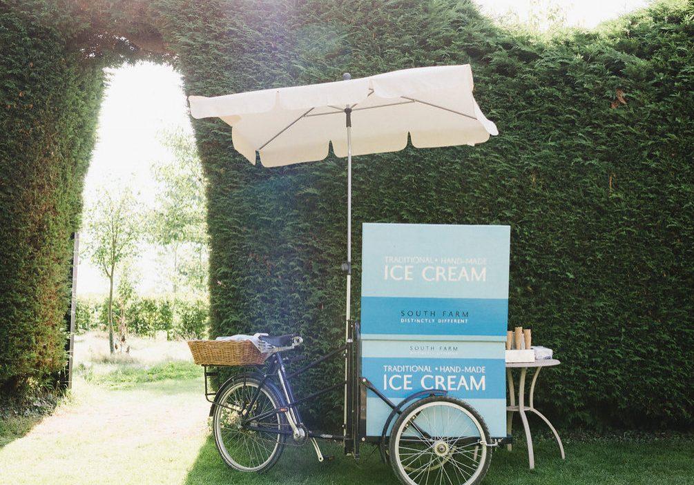 luxury wedding ice-cream trend