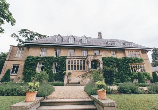 Slaughters Manor luxury Cotswolds wedding